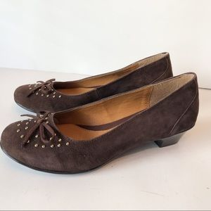Euro Soft by Sofft Flats Loafers Brown Size 8